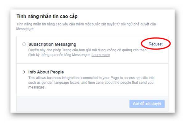 cập nhật của Facebook 2020