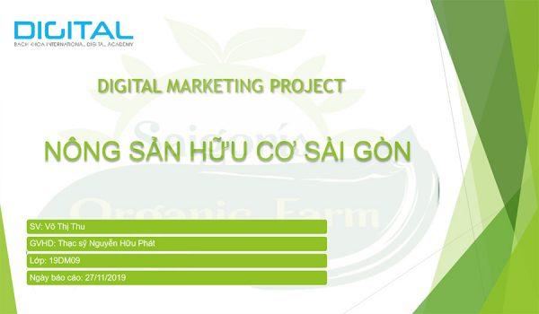 Digital Marketing nông sản hữu cơ