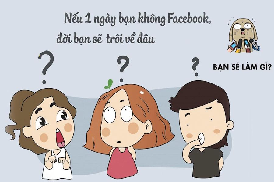 không có facebook