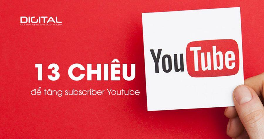 tăng sub Youtuber