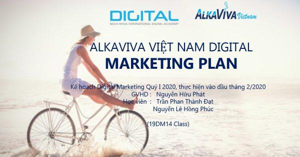 Digital Marketing máy lọc nước ALKAVIVA