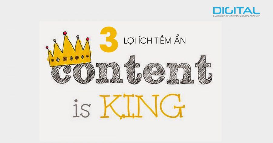 3 lợi ích tiềm ẩn khi bạn viết nội dung hay