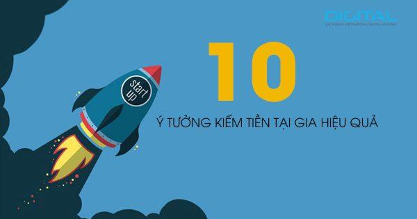 10 ý tưởng kiếm tiền tại gia hiệu quả