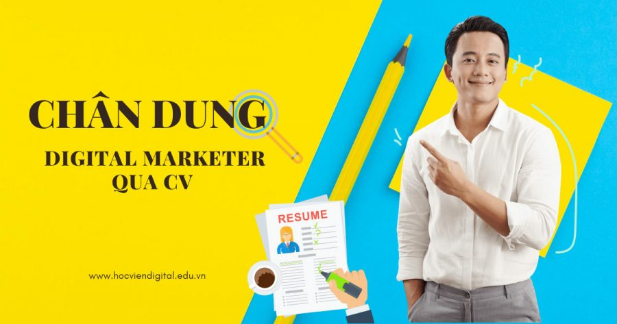 CV nghề Digital Marketing