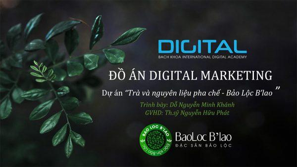 Đồ án Digital Marketing Trà Bảo Lộc Blao