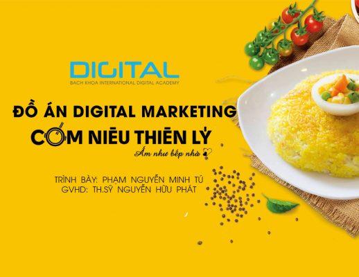 Đồ án Digital Marketing Chuỗi cơm niêu Thiên Lý