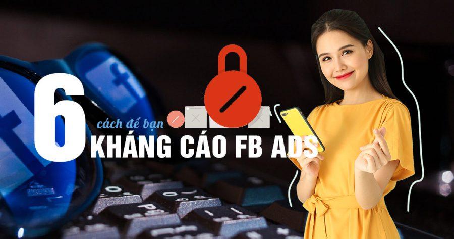 kháng cáo facebook ads