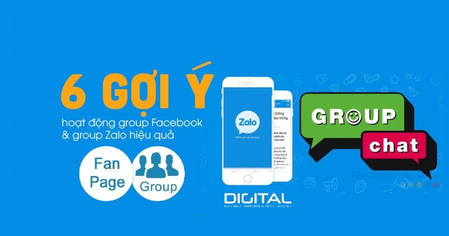 hoạt động Group FB
