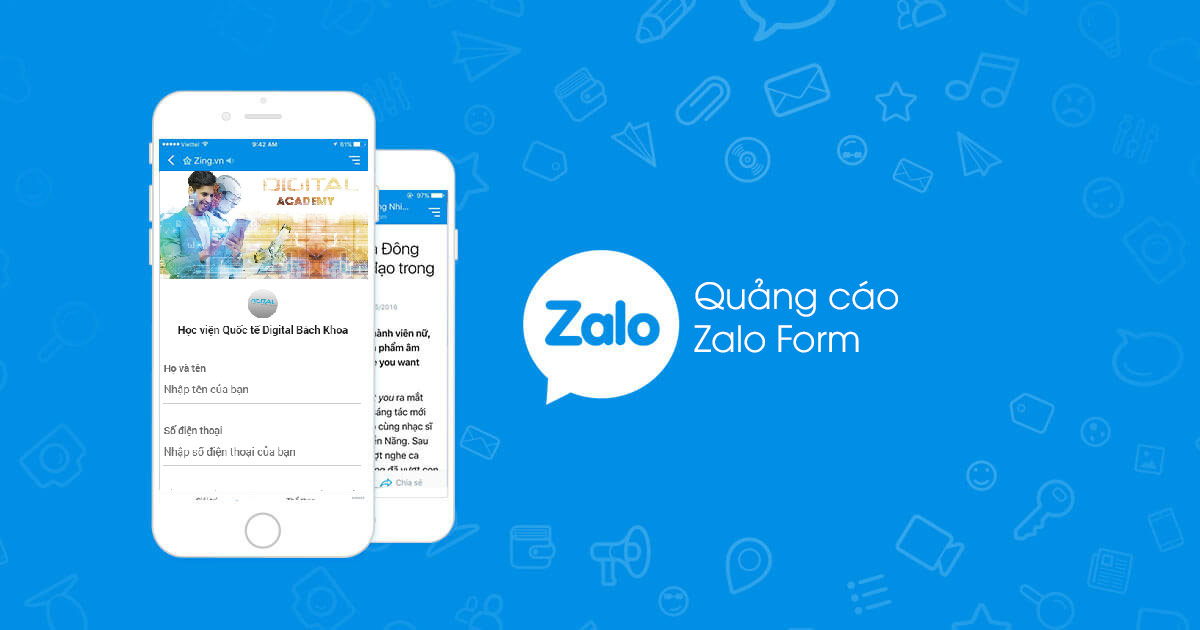 Quảng cáo lead form trong Zalo Ads