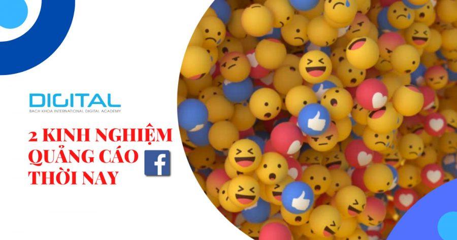 2 kinh nghiệm chạy quảng cáo facebook thời nay