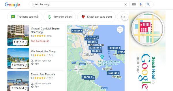 Giải pháp Digital Marketing khách sạn Google Hotels