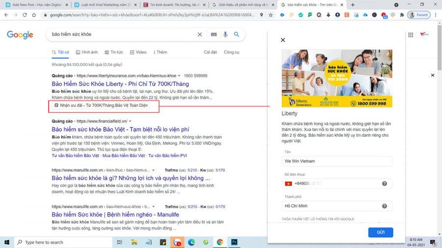Google Ads Lead Form