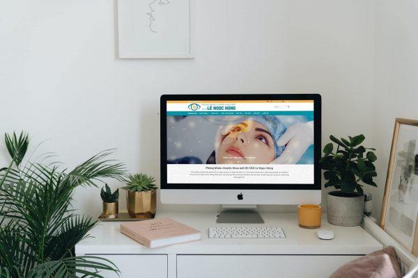 Website phòng khám mắt Bác sỹ Hùng