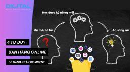 4 tư duy bán hàng Online