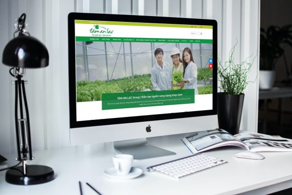 Website Tâm An Lạc