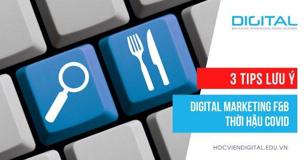Digital Marketing ngành F&B