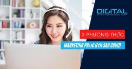 3 phương thức marketing trong dịch Covid mà DN nên làm?